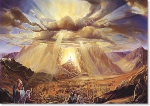 Deus no monte Sinai
